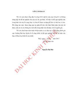 Luận văn Đánh giá tình hình thực hiện luật đất đai 2003 ở huyện Xuân lộc, tỉnh Đồng Nai