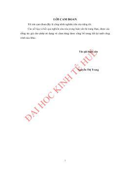 Luận văn Giải pháp nâng cao chất lượng đội ngũ công chức, viên chức tại Sở Tài nguyên và Môi trường tỉnh Thanh Hoá