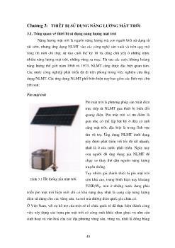 Giáo trình Năng lượng mặt trời lý thuyết và ứng dụng (Phần 2)