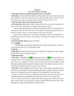 Giáo trình Nhà nước và pháp luật - Bài 4: Luật hôn nhân và gia đình
